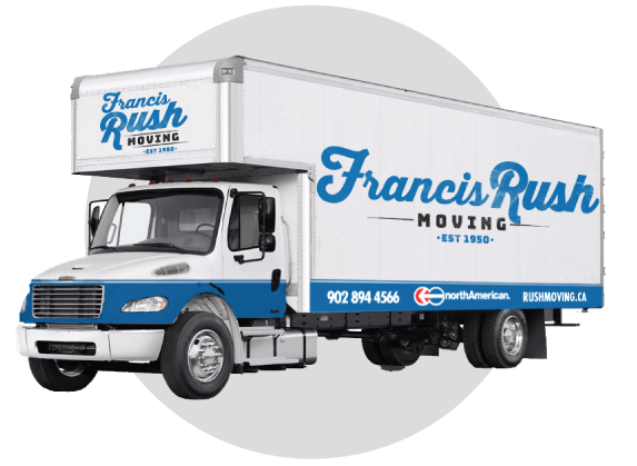 Francis Rush Local moves for your home or business are completed with care and and completed quickly!